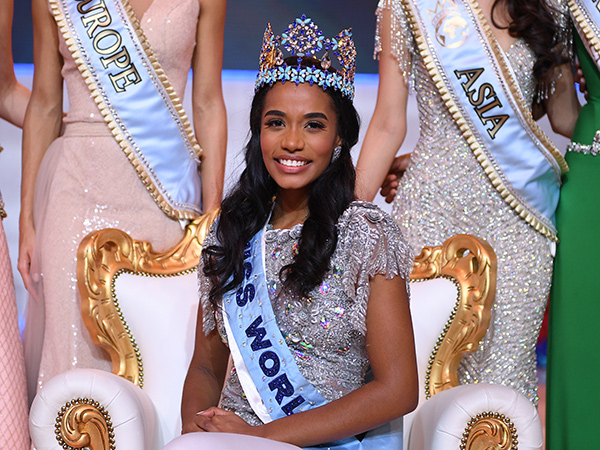 Miss Jamaica Toni-Ann Singh Menangi Miss World 2019