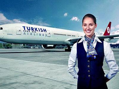 Maskapai Turki Larang Pramugari Berlipstik Merah