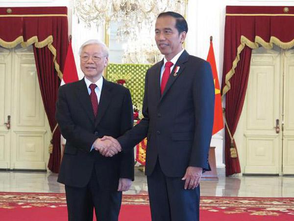 Jokowi Sambut Sekjen Partai Komunis Vietnam Jadi Omongan, Ini Isi Kerja Samanya