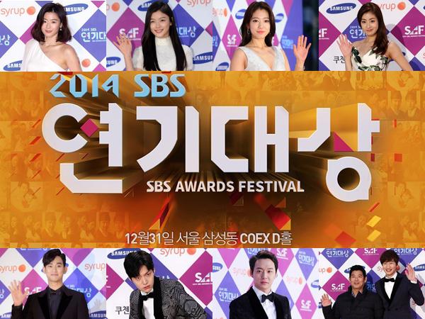 Sajikan Drama Hits Sepanjang 2014, Ini Daftar Lengkap Pemenang 2014 SBS Drama Awards!