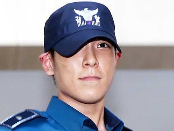 Usai Dikeluarkan, T.O.P Langsung Tinggalkan Kantor Kepolisian Wamil dengan Wajah Tertunduk