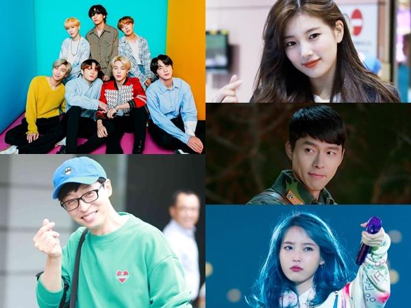 Daftar 10 Besar Selebriti Korea Paling Dicintai Tahun 2020