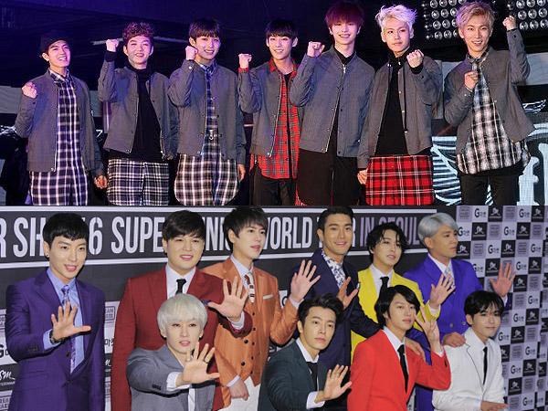 Ini Alasan BTOB Tunjuk Super Junior Sebagai Grup Senior Favoritnya
