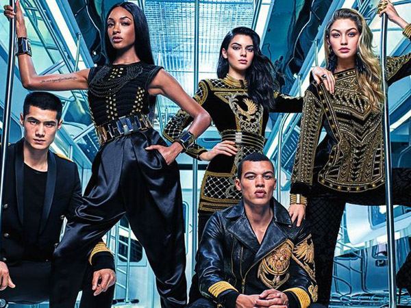 Koleksi Balmain X H&M Resmi Diluncurkan, Para Pembeli 'Menggila' di Store H&M!