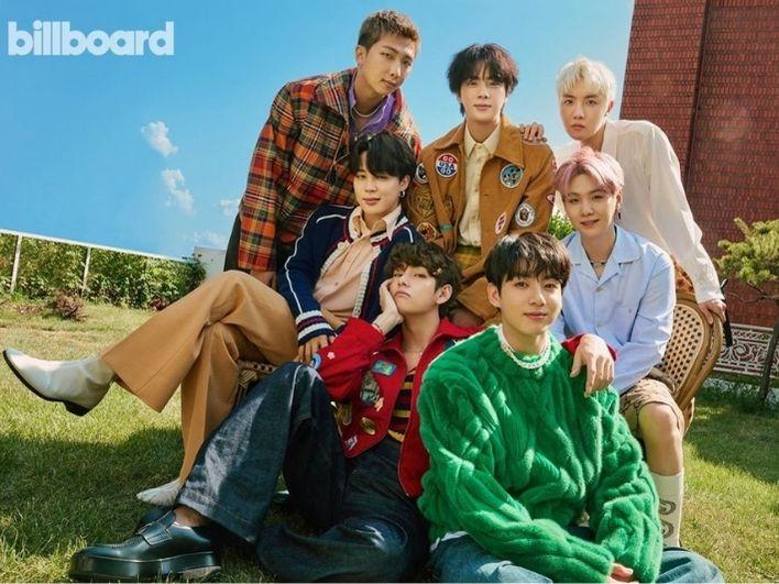 Harga Outfit BTS Saat Pemotretan Majalah Billboard 2021