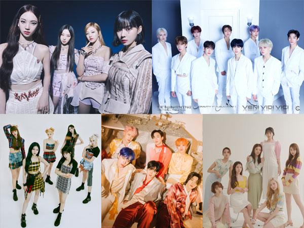 aespa, CRAVITY, STAYC, Weeekly, dan Wei Juga Masuk Nominasi MTV EMA 2021