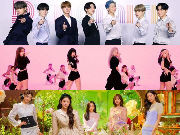 Daftar Grup K-Pop Paling Populer di Bulan Agustus, Ada Idolamu?
