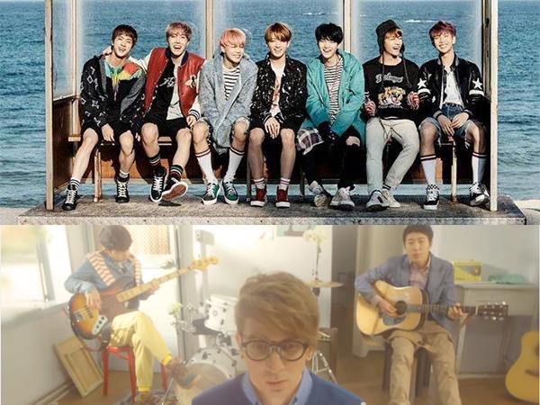 Lagu BTS 'Spring Day' Ungguli 'Cherry Blossom Ending' Milik Busker Busker di Chart