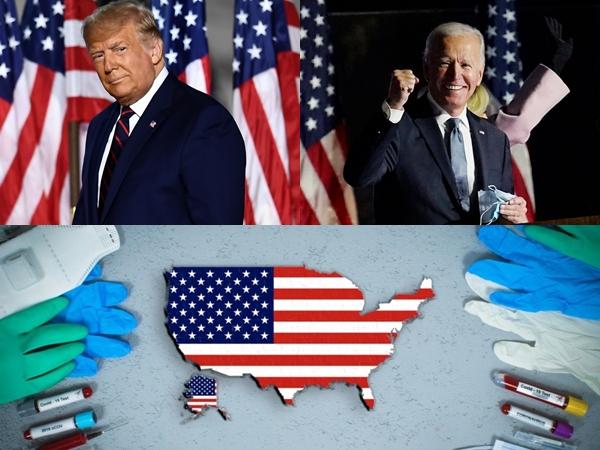Amerika Serikat Catat Rekor Baru Kasus COVID-19 di Tengah Pertarungan Trump dan Biden