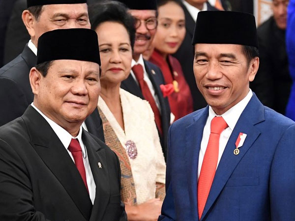 Curahan Hati Prabowo Jadi Menhan: Enak Kerja Sama dengan Pak Jokowi