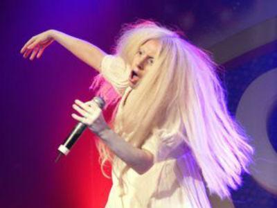 OMG! Lady Gaga Manggung Tanpa Busana di London!