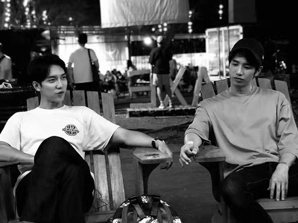 Sempat Bikin Heboh, Lee Seung Gi dan Jasper Liu Bagikan Foto-foto Syuting Variety di Yogya - Bali