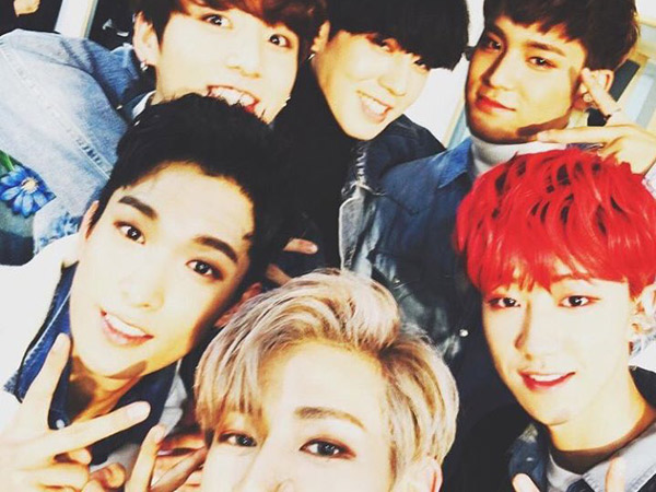 Squad Goals! Akrabnya Idola K-Pop '97 Line' di Belakang Panggung 'KBS Song Festival 2016'
