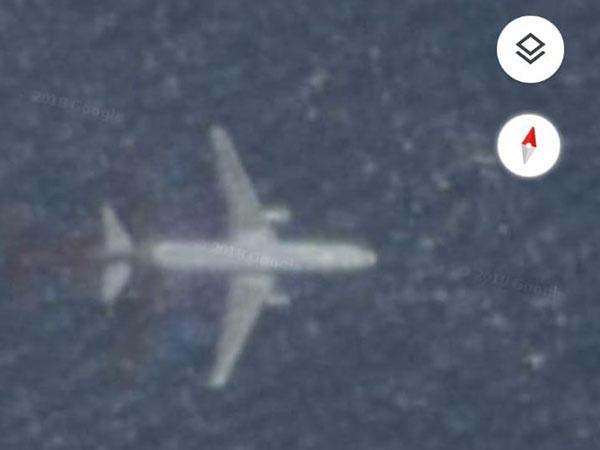 Pesawat Tenggelam di Maps Sempat Viral di Media Sosial, Begini Penjelasannya