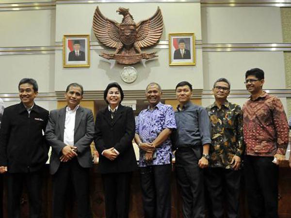 Disahkan Dalam Voting, 5 Pimpinan KPK Ini Akan Ucap Sumpah di Hadapan Jokowi