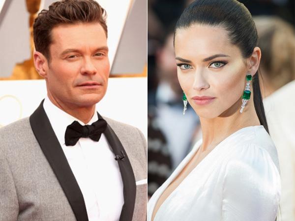 Cinlok di Olimpiade Rio, Ryan Seacrest dan Adriana Lima 'Victoria's Secret' Pacaran?