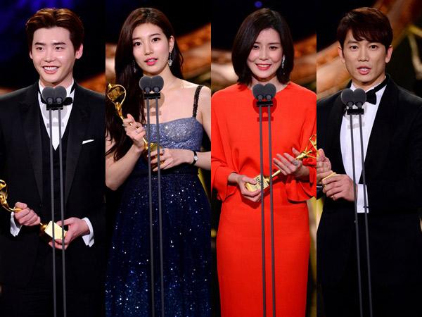 Inilah Aktor, Aktris, dan Drama Pemenang 'SBS Drama Awards 2017', Ada Jagoanmu?