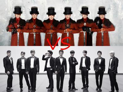 Beda Generasi, Super Junior dan Shinhwa Bersaing di MAMA 2012