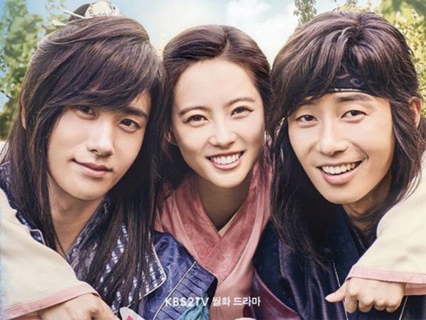 Drama 'Hwarang' Bocorkan Kisah Tiga Karakter Utamanya, Kode Cinta Segitiga?