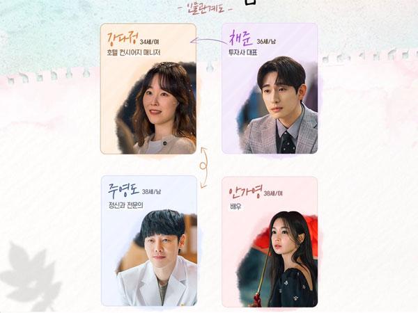 Melihat Hubungan Antar Karakter di Drama Baru tvN 'You Are My Spring'