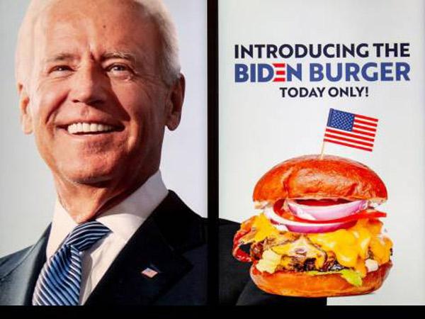 Joe Biden Menang, Restoran Ini Keluarkan Menu Baru 'Burger Biden'