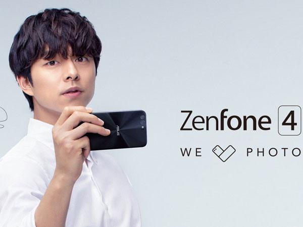 Asus Pastikan Kehadiran Gong Yoo di Acara Peluncuran Resmi Zenfone 4