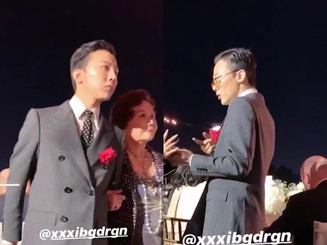 Kemunculan G-Dragon di Pernikahan Sang Kakak Bikin Fans Makin Tak Sabar