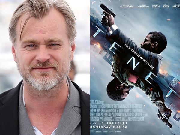 Bangga Pencapaian 'Tenet', Christopher Nolan Soroti Nasib Bioskop Selama Pandemi