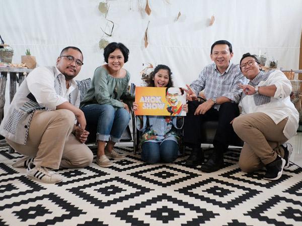 Tayang Perdana Lewat Media Sosial, Ahok Cari Stasiun TV yang Mau Siarkan 'Ahok Show'
