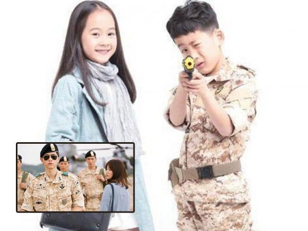 Gemas, Dua Bocah Tiongkok Ini Totalitas Parodikan Foto Drama 'Descendants of the Sun'!