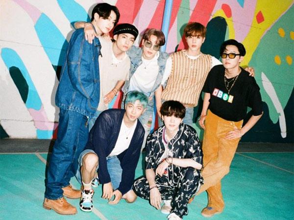 BTS Catat Sejarah Baru di Chart Billlboard Hot 100