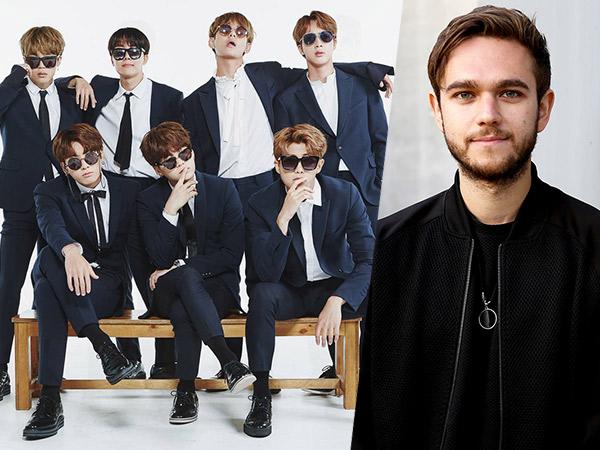 Antusias Terima Ajakan Kolaborasi Bareng BTS, Zedd: Let's Do It!