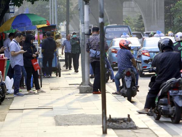 Catat, Agustus Kali Ini Jadi Bulan Tertib Trotoar untuk DKI Jakarta