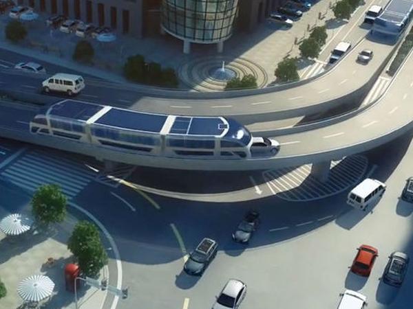 Bebas Macet dan Polusi, Bus 3D Ini Akan Jadi Magnet Wisata Baru China!