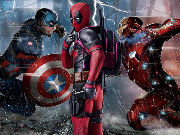 Intip Reaksi Kocak Duo Super Hero Menyelamati Kesuksesan 'Deadpool'