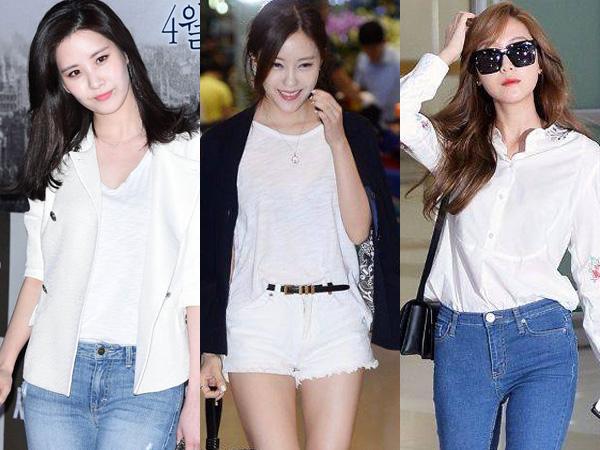 Dress Like Your Idol: Inspirasi Tampil Stylish Kenakan Baju Putih A la Idola K-Pop