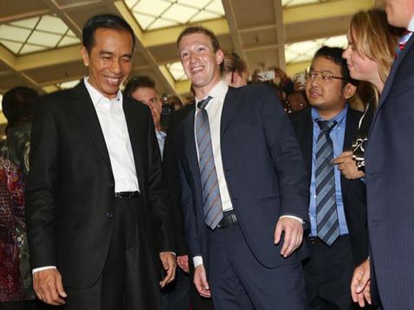 Dari Tulis 'Status' Hingga Disambut 'Indonesia Raya', Ini Kegiatan Presiden Jokowi Selama 'Blusukan' Ke Kantor Teknologi Amerika