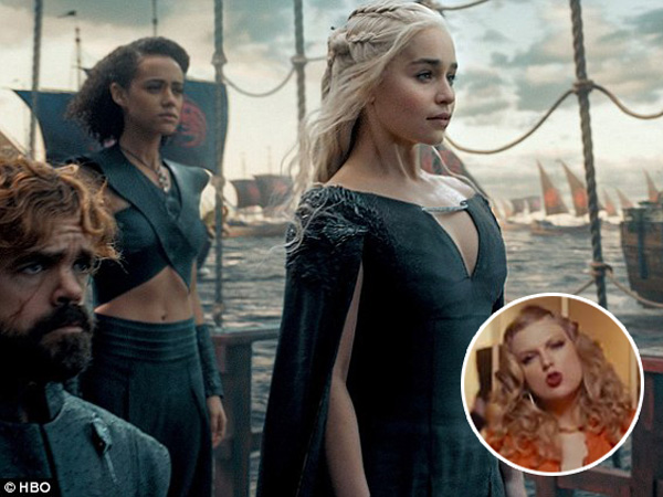 Kelewat Kreatif, YouTuber Ini Buat Video Mashup 'Look What You Made Me Do' Versi Game of Thrones