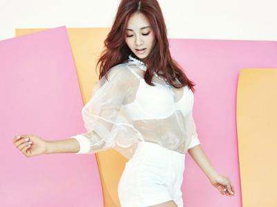 Wow, G.NA Tampil Seksi untuk Single Terbarunya, 'Pretty Lingerie'!