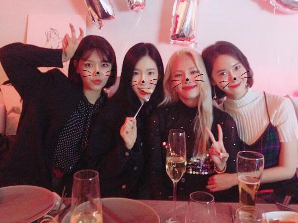 Mengintip Keseruan Pesta Ulang Tahun ke-28 Hyoyeon SNSD
