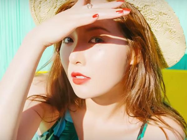 Telusuri Bali, HyunA Asyik Nikmati Liburan Musim Panas di MV 'Morning Glory'