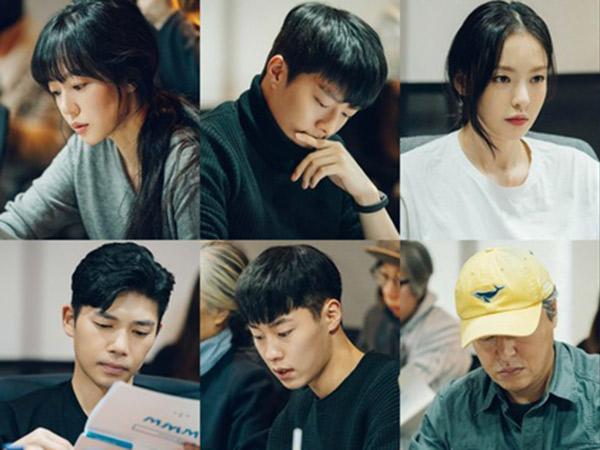 Im Soo Jung, Jang Ki Yong, dan Lee Dae Hee Super Serius Saat Diskusi Naskah Drama Baru 'WWW'