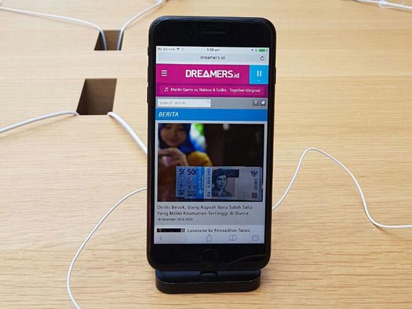 Duo iPhone 7 Akhirnya Resmi Dijual di Indonesia 31 Maret