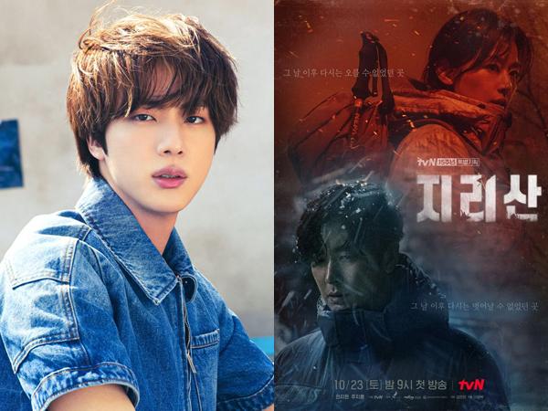 Jin BTS Isi Soundtrack Utama Drama Jun Ji Hyun dan Joo Ji Hoon 'Jirisan'