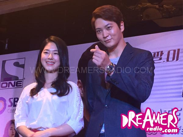 Joo Won Ceritakan Seputar Karir dan Drama 'Yong Pal' Di Press Con Jakarta