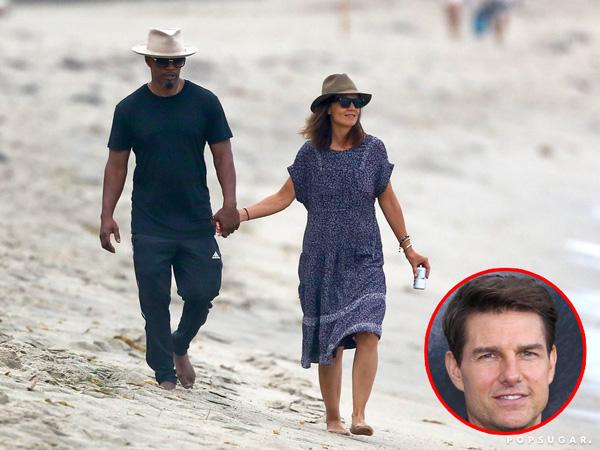 Dibandingkan Tom Cruise, Katie Holmes Lebih Bahagia Bersama Jamie Foxx?