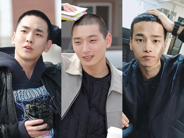 Foto-foto Key SHINee, Jinwoon 2AM, dan N VIXX yang Kompak Masuk Wajib Militer Bersama