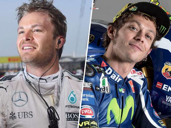 Dikabarkan Gantikan Nico Rosberg di F1, Begini Jawaban Mengejutkan Valentino Rossi