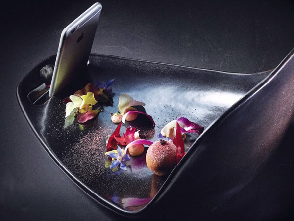 Keren, Restoran Ini Sediakan Piring Khusus Bagi Para Pengguna Instagram!