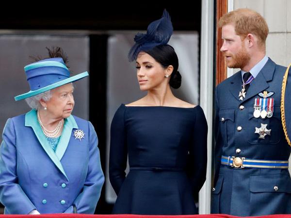 Ratu Elizabeth Minta Pangeran Harry dan Meghan Markle Hapus Gelar Kerajaan
